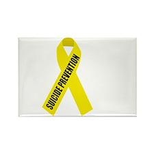Suicide-Prevention-Hope-BLK Rectangle Magnet