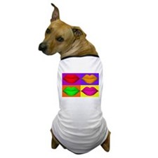 Pop Art Kiss Dog T-Shirt
