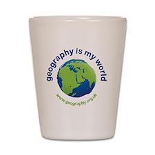 GeographyIsMyWorld Shot Glass