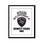 Hewitt Texas Jail Framed Panel Print