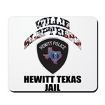 Hewitt Texas Jail Mousepad