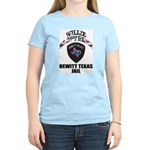 Hewitt Texas Jail Women's Pink T-Shirt