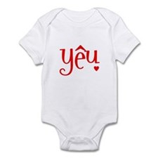 """Love"" in Vietnamese Infant Bodysuit"