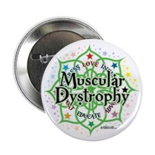 "Muscular-Dystrophy--Lotus 2.25"" Button"