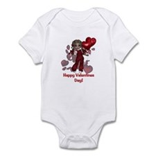 Happy Valentines Day Infant Bodysuit