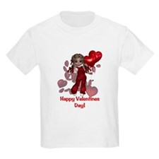 Happy Valentines Day Kids T-Shirt