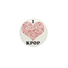 ilovekpop Mini Button