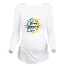 Down-Syndrome-Lotus- Long Sleeve Maternity T-Shirt
