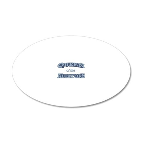 Queen_Auditors_RK2010_21x14 20x12 Oval Wall Decal