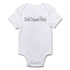 Cloth Diapered Baby! Infant Bodysuit