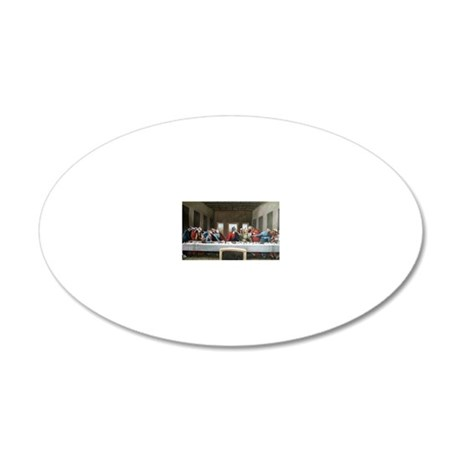 LastPupperCafepress 20x12 Oval Wall Decal