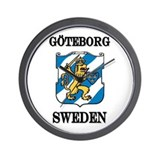 The Göteborg Store Wall Clock