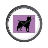 Collie iPet Wall Clock