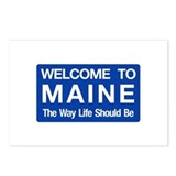 Welcome to Maine - USA Postcards (Package of 8)