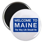 "Welcome to Maine - USA 2.25"" Magnet (100 pack)"