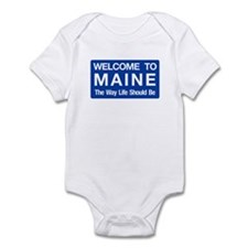 Welcome to Maine - USA Infant Bodysuit