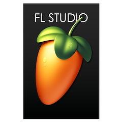 "35"" Fruit (fl12) With Fl Studio Name Large Po"