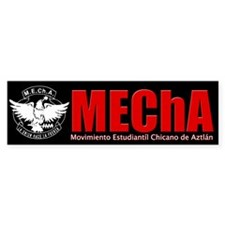 MEChA Bumper Sticker (Black)