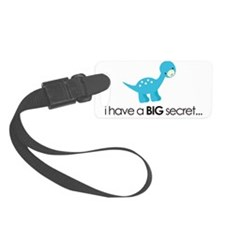 secret dinosaur NEW front Luggage Tag