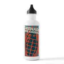 Grenade Free America Water Bottle