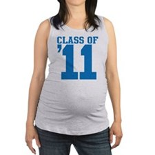 class-2011-blue Maternity Tank Top