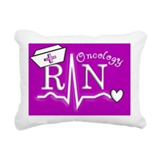 Oncology RN Rectangular Canvas Pillow
