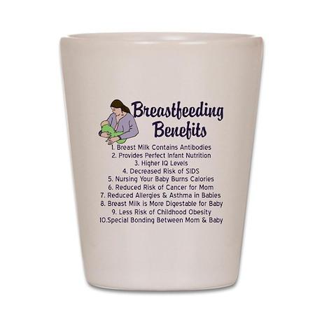 breastfeedingbenefits Shot Glass