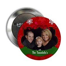 "Christmas Photo 2.25"" Button"