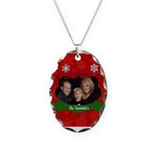Christmas Photo Necklace