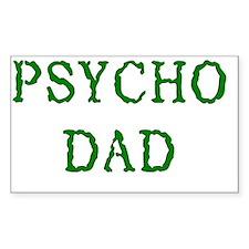 Psycho Dad Decal