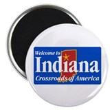 "Welcome to Indiana - USA 2.25"" Magnet (100 pack)"