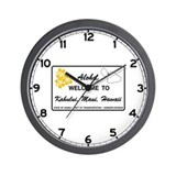 Welcome to Hawaii - USA Wall Clock