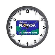 Welcome to Florida - USA Wall Clock