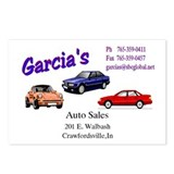 Garcia's Auto Sells Postcards (Package of 8)