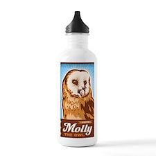 VoteMolly_MiniPoster Water Bottle