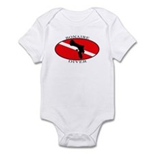 Bonaire Diver (oval) Infant Bodysuit