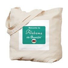 Welcome to Alabama - USA Tote Bag