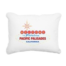 PACIFIC PALISADES Rectangular Canvas Pillow