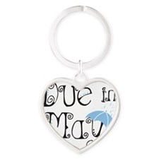 may_boy_light Heart Keychain
