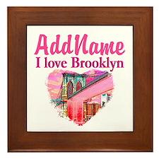 LOVE BROOKLYN Framed Tile