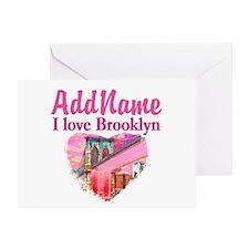 LOVE BROOKLYN Greeting Card
