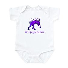 El Chupacabra Purple Infant Bodysuit