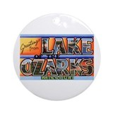 Lake of the Ozarks Missouri Ornament (Round)