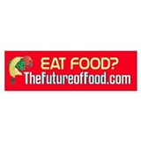 Future of Food Bumper Car Sticker