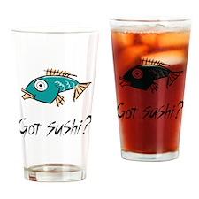 gotSushi Drinking Glass