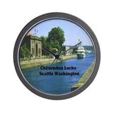 Chittenden Locks Seattle Washington 15. Wall Clock