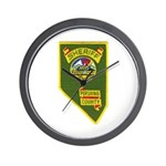 Pershing County Sheriff Wall Clock