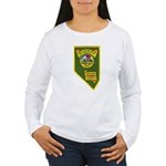 Pershing County Sheriff Women's Long Sleeve T-Shir
