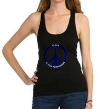 Peace Is Our Profession - FB-11 Racerback Tank Top