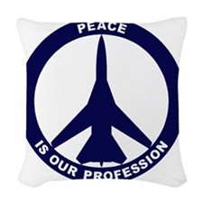 Peace Is Our Profession - FB-1 Woven Throw Pillow
